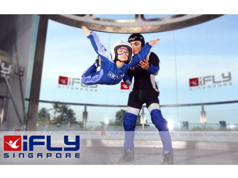 $89 iFly Singapore